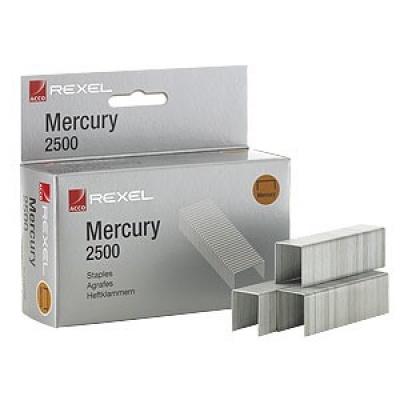 Drátky do sešívačky REXEL Merkury, 2500 kusů