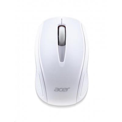 ACER  Wireless Mouse G69 White - RF2.4G, 1600 dpi, 95x58x35 mm, 10m dosah, 2x AAA, Win/Chrome/Mac, (Retail Pack