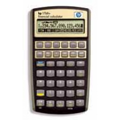 HP 17BII+ Financial Calulator - CALC