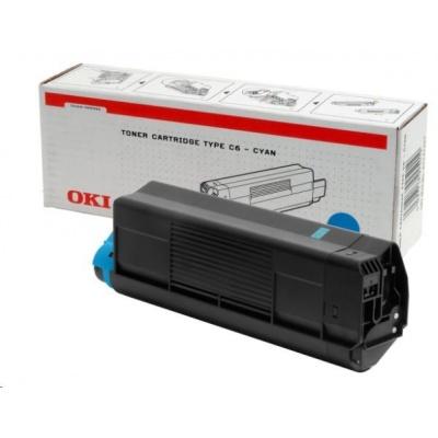 Oki Toner Cyan do C5100/C5300/C5200/C5400 (5 000 stránek)