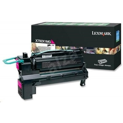 LEXMARK toner X792 Magenta Extra High Yield Return Programme Print Cartridge (20K)