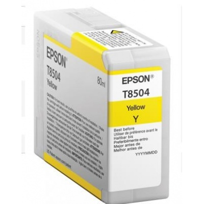 "EPSON ink bar ULTRACHROME HD ""Kosatka"" - Yellow - T850400 (80 ml)"