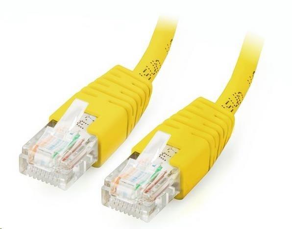 GEMBIRD Kabel UTP Cat5e Patch 0,25m, žlutý