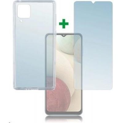 4smarts 360° Protection set (tvrzené sklo + gelový zadní kryt) pro Samsung Galaxy A12