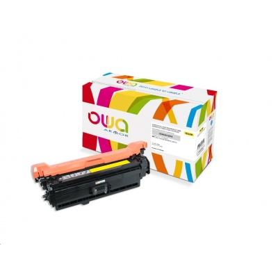 OWA Armor toner pro HP Color Laserjet Ese 500 M551, M575, 6000 Stran, CE402A, žlutá/yellow