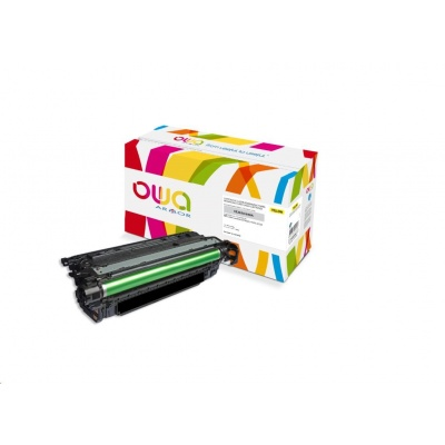 OWA Armor toner pro HP Color Laserjet CP4025/4520/4525, 11000 Stran, CE262A, žlutá/yellow