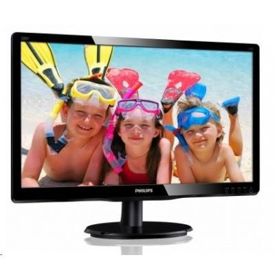 """Philips MT MVA LED 19,5"""" 200V4QSBR/00 - MVA panel, 1920x1080, 250cd/m2, D-Sub, DVI-D"""