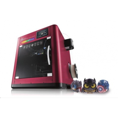 3D tiskárna XYZ da Vinci Color (PLA,PETG,inkoust,20x20x15cm,100-400 mikronů, USB 2.0,WIFI,120 mm/s)