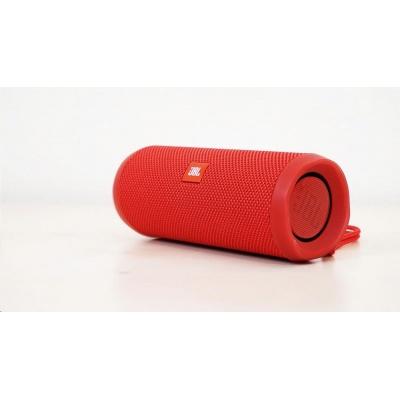 JBL bezdrátový reproduktor Flip 4, 2x8W, BT, vestavěný mikrofon, voděodolný, red