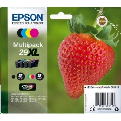 """EPSON Multipack 4-colours """"Jahoda"""" 29XL Claria Home Ink"""