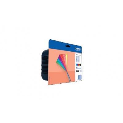 BROTHER INK LC-223VALBP Inkjet Supplies - multipack - Azurová / Purpurová / Žlutá / Černá