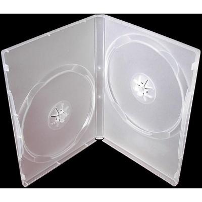 OEM Krabička na 2 DVD 14mm super čirá (balení 100ks)