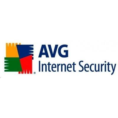 _Nová Licence  AVG Internet Security - Unlimited, 2 roky, BOX
