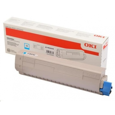 OKI Cyan toner do C833/C843 (10 000 stránek)