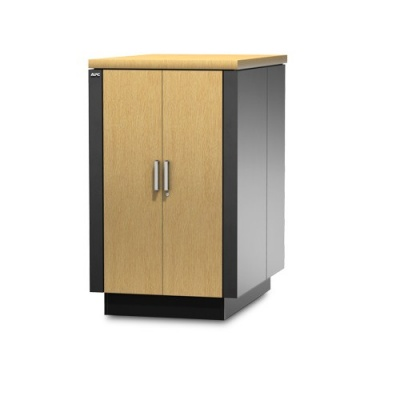 APC NetShelter CX 24U 750 mm Wide x 1130 mm Deep Enclosure Oak/Grey Finish Intl