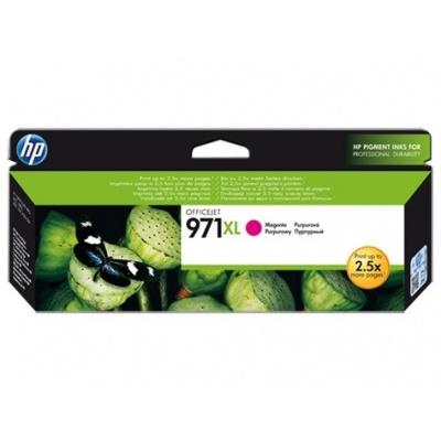 HP 971XL Magenta Ink Cart, 6 600 stran, CN627AE