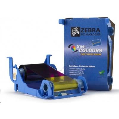 ZEBRA TTR páska YMCKO, barevná barvící páska pro Zebra P1xx
